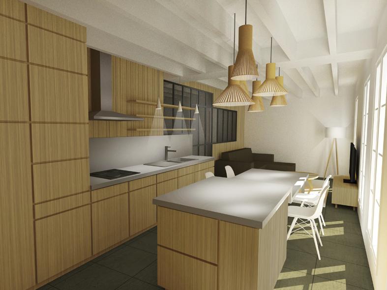 Aménagement Intérieur D'Un Appartement À Rouen (76) - Atelier