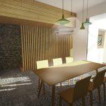 Aménagement intérieur d'une maison de ville à Angers (49)