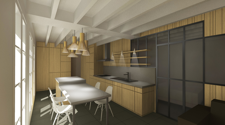 Am nagement int rieur d 39 un appartement rouen 76 atelier potentiel architecte nantes for Programme amenagement interieur