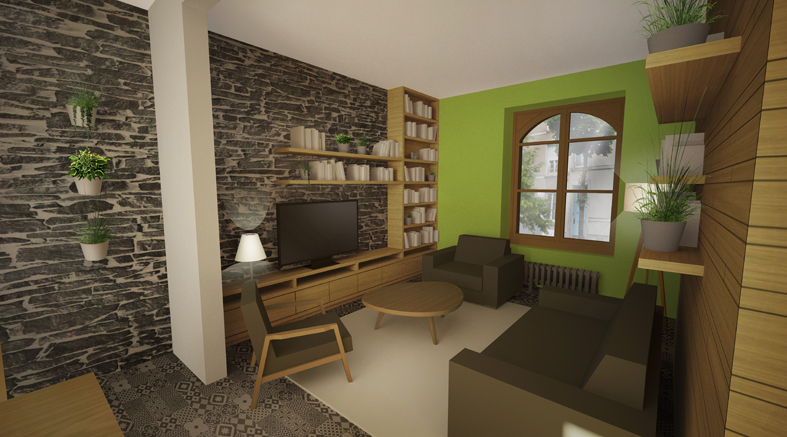 Am nagement int rieur d 39 une maison de ville angers 49 atelier potentiel architecte for Programme amenagement interieur