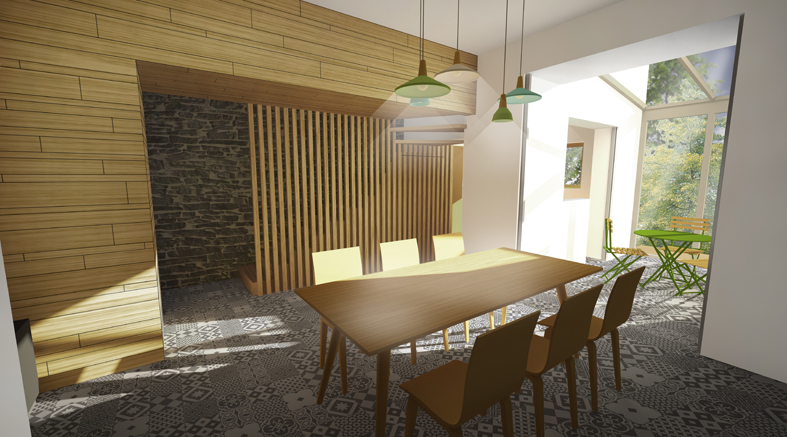Am nagement int rieur d 39 une maison de ville angers 49 for Programme amenagement interieur